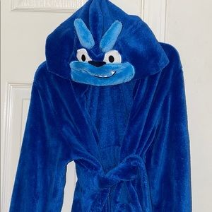 Pekkle plush animal monster soft luscious robe